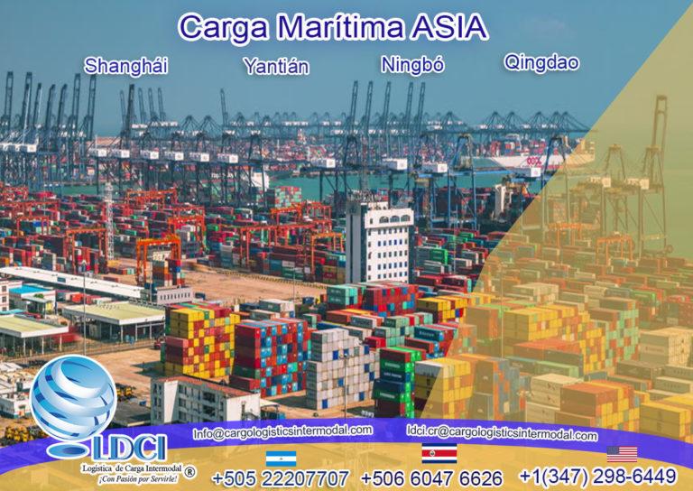Carga Marítima ASIA